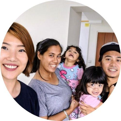 Shamsul and family
