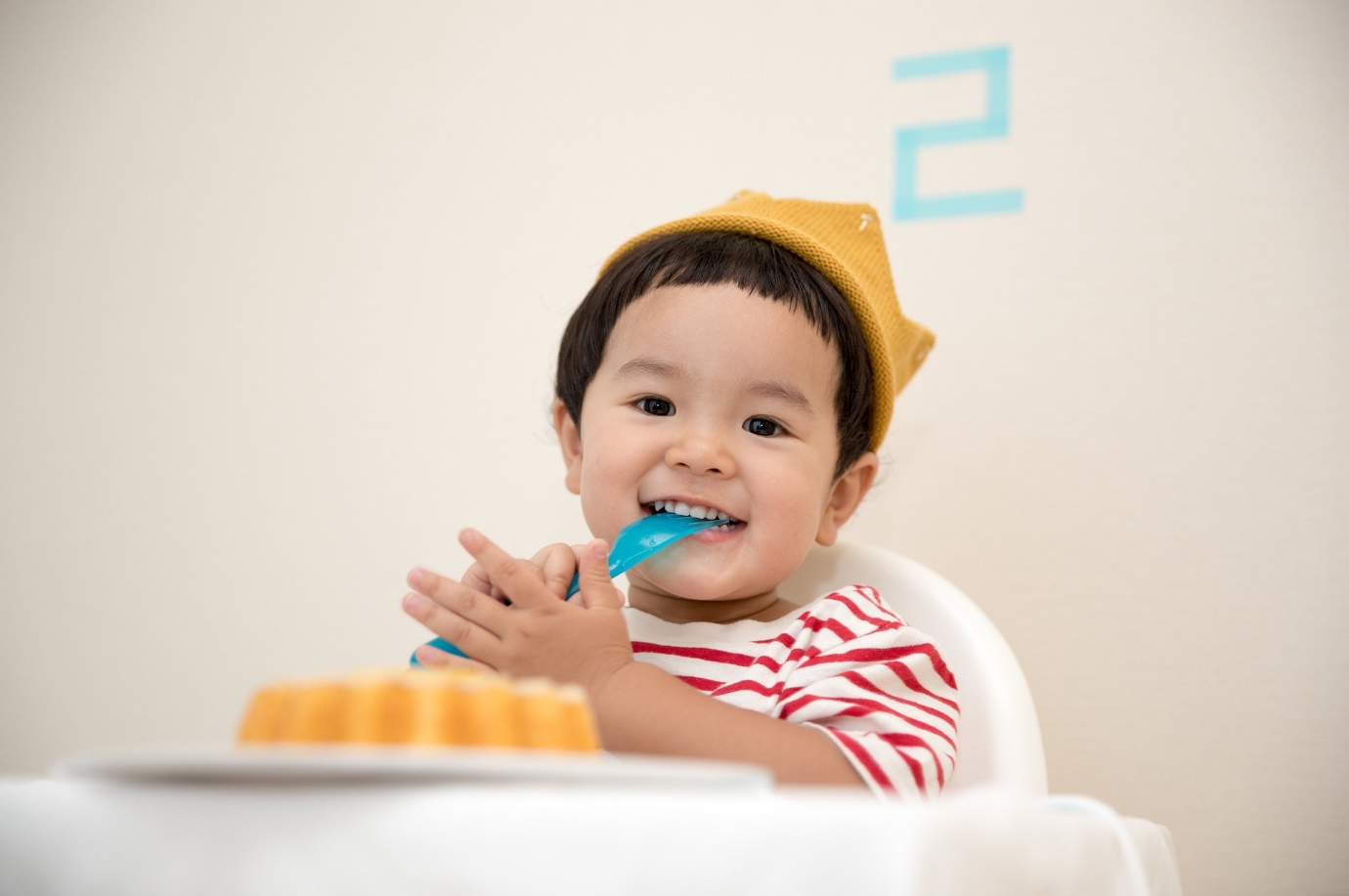 A picture containing wall, teeth, indoor, brushing Description automatically generated